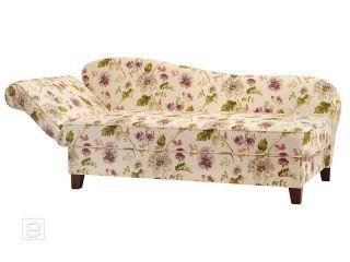 NEU* Excl. Recamiere Chaiselongue Ottomane Sofa Couch florales Design