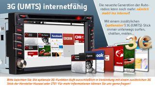 Der RY 601 Der Premium Universal 2 Din Naviceiver GPD DVD Dualzone TMC
