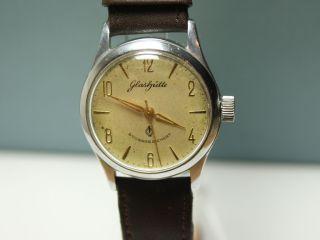GUB Glashütte Herrenuhr /mens wrist watch/ Güteuhr Kaliber 60.3