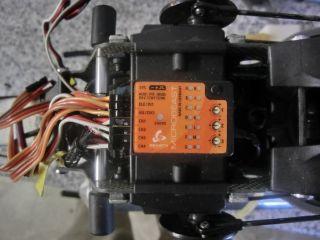 Rex 600 Nitro FBL mit Microbeast flugfertig kein Vibe Logo Raptor