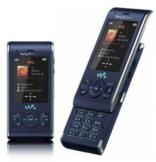 Sony Ericsson Walkman W595   Active Blue (Ohne Simlock) Handy