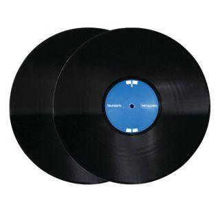 Numark Virtual Vinyl Timecode Vinyl black (Paar) Ansicht vorn