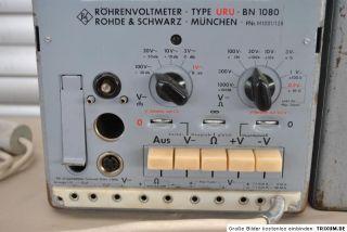 Rohde & Schwarz Röhrenvoltmeter URU BN1080