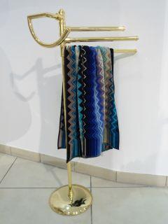 Luxus Handtuchständer Standhandtuchhalter Handtuchhalter Gold