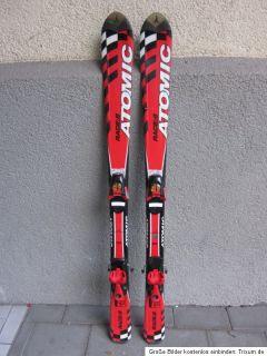 Kinderskiset Race Carving Ski Atomic Race 6, 120cm+ Salomon 4 05