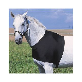 Schulterschutz Brustschutz Deckenschutz für Pferde schwarz Gr.L