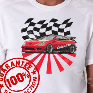 Toyota Celica JDM Racing T Shirt xs 3XL #606