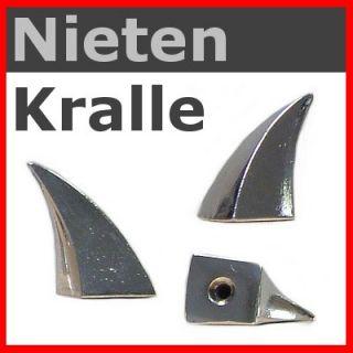 KRALLEN   NIETE  Eck   Kralle 33mm / Gothic Punk Larp