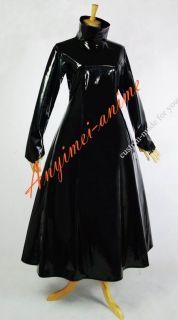 Gothic Lolita PVC LACK KLeid G620 Massanfertigung