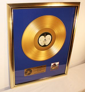 Beatles, Yellow Submarine, goldene Schallplatte, platin