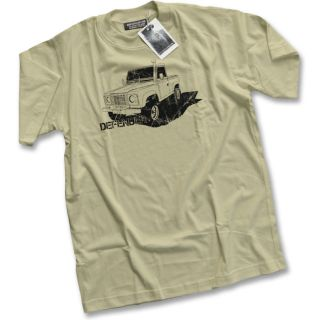 Land Rover Defender LandRover 90 110 130 Series 3 4x4 Mens Camel T