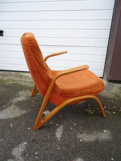Original PAUL BODE LOUNGE CHAIR Sessel 1950s ATOMIC SPACE AGE VINTAGE