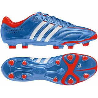 Adidas Adipure 11pro FG Fußballschuhe Blau/Weiß Nocken Kickschuhe
