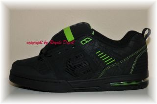 Etnies Schuhe Metal Mulisha Kontra black lime Gr 40 41 42 43 44 45 46