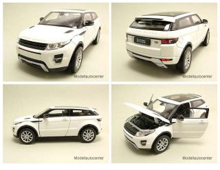 Land Rover Range Rover Evoque 2011 weiß, Modellauto 124 / Welly