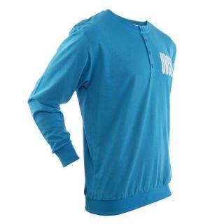 UNCLE SAM Langarmshirt blue Sweater Sweatshirt M bis 3XL 100%