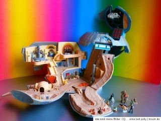 STAR WARS MICRO MACHINES☠TODESSTERN☠☠+ Figuren+Millennium Falcon
