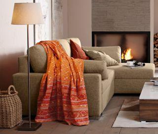 Tchibo TCM Eck Schlafsofa braun beige Couch Sofa NP 649,  ***