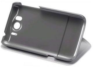 ORIGINAL HTC SENSATION XL HARD SHELL COVER LEDER TASCHE STANDFUNKTION