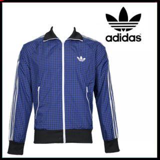 Adidas Firebird Nylon Track Top Jacke black/blue