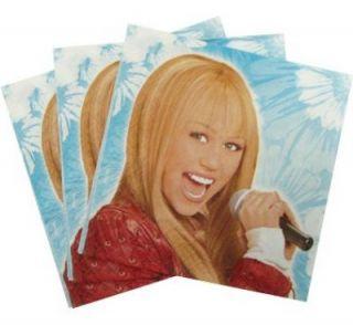 Disney Hannah Montana Servietten Kindergeburtstag 5388