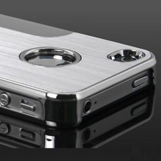 Apple iPhone 4 4S Aluminium Bumper Schutzhülle Hard Case Cover Metall