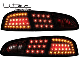 Seat Ibiza 6L LED Blinker Litec Rückleuchten smoke rauchig