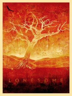 Shepard Fairey TOM DULA White Neil Young S/N Art Poster Print   OBEY
