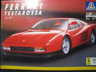 ITALERI 672 124 Ferrari Testarossa NEU&OVP S5 5183
