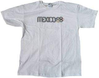 MEXICO 68 Official Merchandise OLYMPIA 1968 T Shirt L