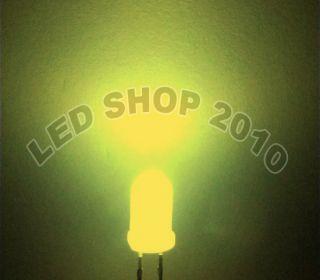 50pcs 10mm Round Diffused Warm white LED 5K MCD Bulb Light