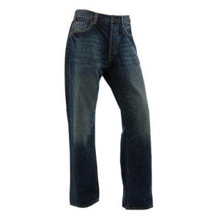 Ed Hardy Herren Denim Jeans Jeanshose Herrenjeanshose Hose blau
