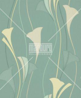 Marburg Tapeten Villa Vita   51909 Vlies Neu Floral Modern Art Grün