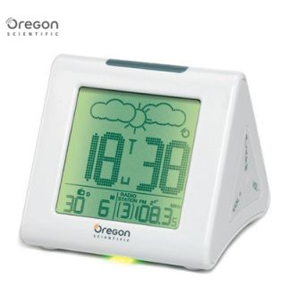 OREGON SCIENTIFIC BARM839 Funkuhr Funkwetterstation Radio Uhr Wecker