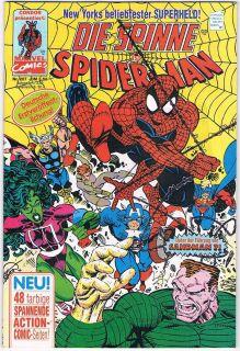 Condor Marvel Comics DIE SPINNE ist SPIDER MAN Nr. 207 Sandman und die