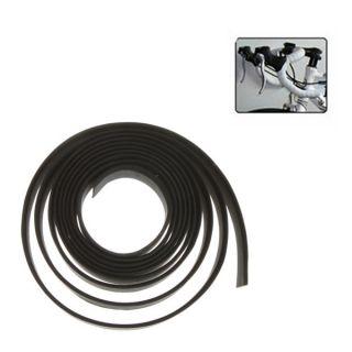 2X Cycling Road Bike Sports Bicycle Cork Handlebar Tape Wrap Black + 2