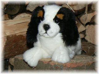 Plüsch Hund Cavalier King Charles Welpe by L. Bocchetta