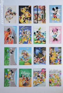Walt Disney MICKEY MOUSE Club House 16 Postcard Set #2