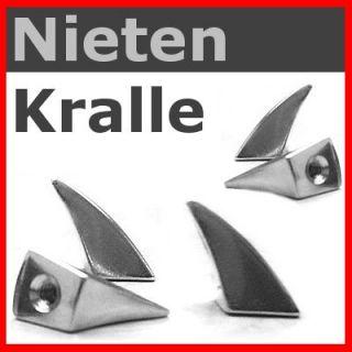 KRALLEN   NIETE  Eck Kralle 19mm / Gothic Punk Larp
