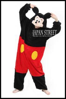 From Japan Original NEW Kigurumi Disney Mickey Mouse cosplay costume