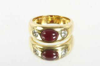 GELEGENHEIT AUS PRIVATBESITZ#695 WEMPE RING GOLD 750 RUBIN