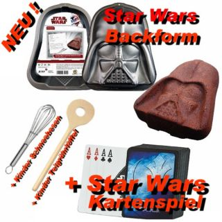 Star Wars Back Set mit Backform Utensilien +Kartenspiel