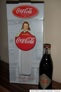 COCA COLA Straight Wall Bottle 1900   Neu  New