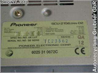 RADIO RENAULT ESPACE III (JE0_) 3.0 V6 24V (JE0G, JE0R) 6025310672C
