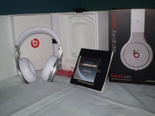 MONSTER PRO DR DRE STUDIO BEATS SOLO HD WHITE + OMAGGIO