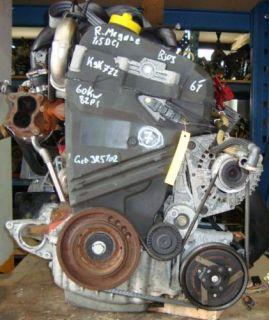 Motor Renault Megane Nissan 1,5 DCI MotocodK9K722 60KW Bj. 03