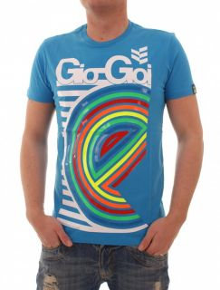 GIO GOI THROVE T SHIRT GR. S M L XL BLAU
