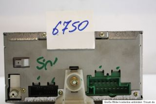 Ford Radio 6006 E CD RDS 6 fach CD Wechsler inkl. Code 1S7F18C815AD