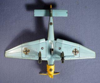 DINKY 721 Junkers JU 87 B Stuka Flugzeug Airplane Luftwaffe WWII 70er