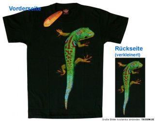 Shirt GECKO, Lizard, Eidechse Gr. M, von ROCK EAGLE